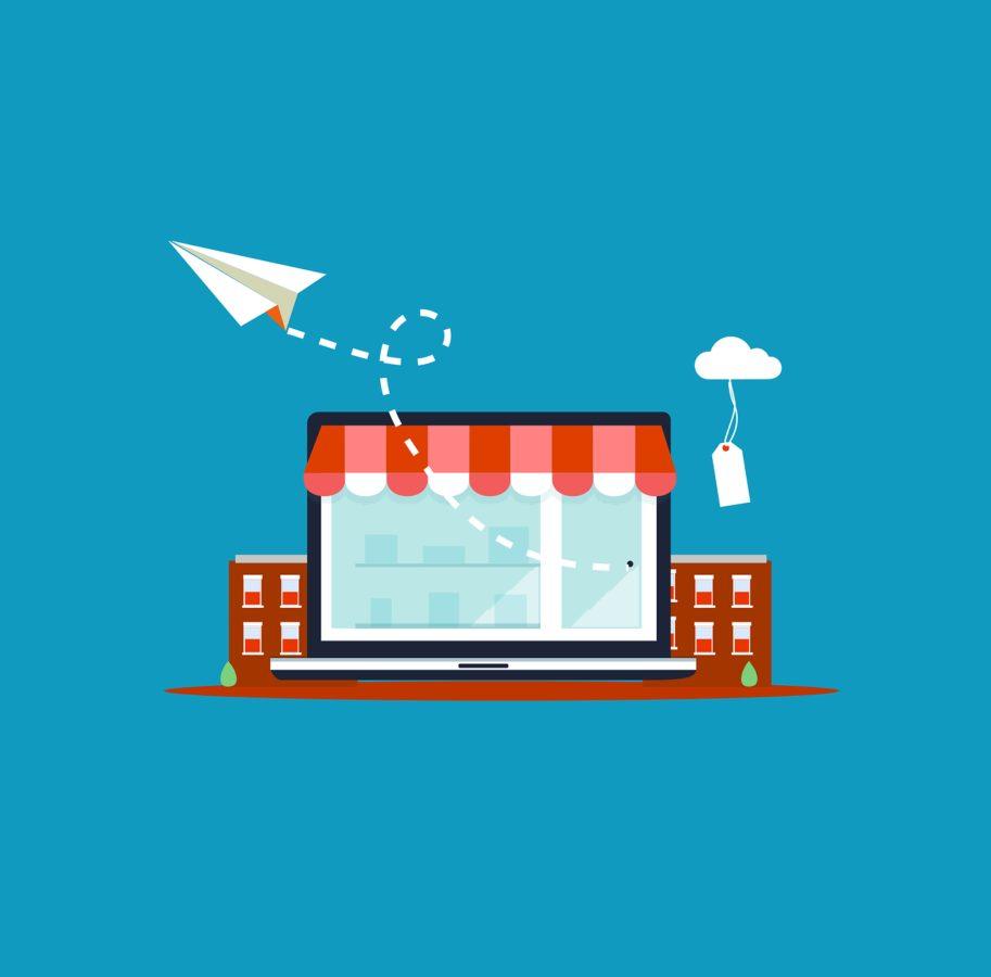 Projektowanie sklep贸w online Wo艂贸w